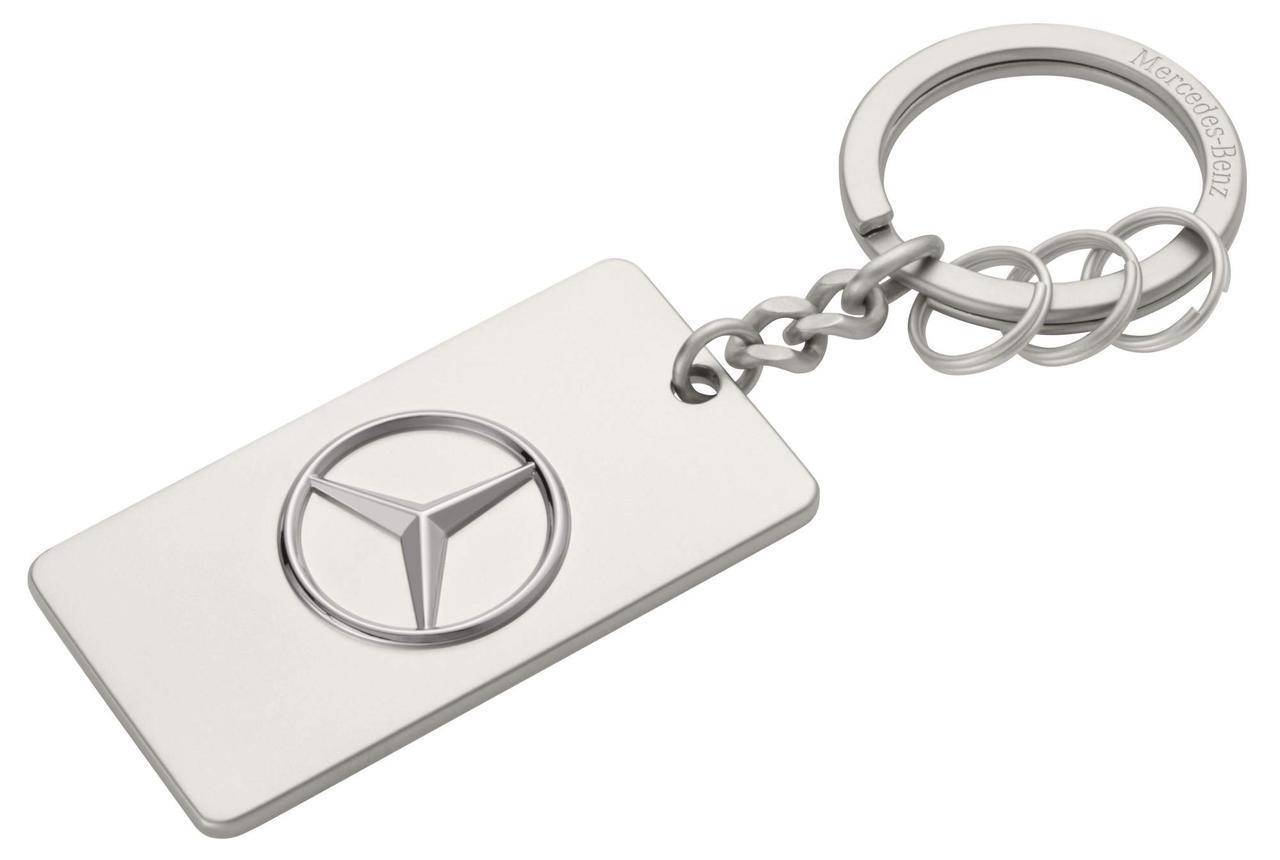 Оригінальний брелок Mercedes-Benz Key Ring Trucks, Diecast Zinc, Silver (B67871176)