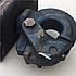 Крюк буксирный КрАЗ (фаркоп) 255Б-2805009, фото 2