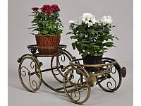 Подставки  кованые для цветов,карета 2