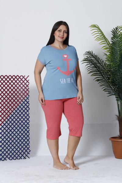Комплект жіночий великих розмірів SEXEN 12507