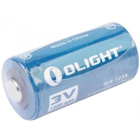 Батарея литиевая Olight CR123A 3.0v 1500mAh