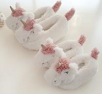 Тапочки игрушки Единороги, маломерят, фото 1