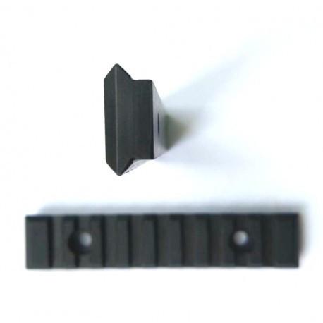 Планка Weaver 125mm стальная