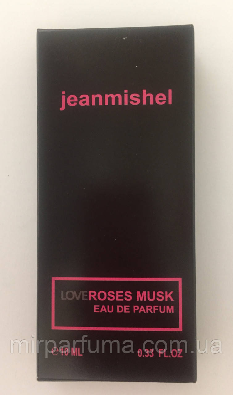 Мини духи женские jeanmishel Love Roses Musk 10ml опт