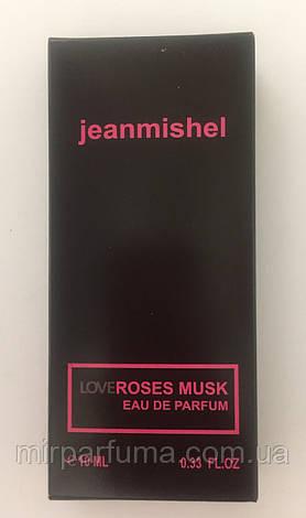 Мини духи женские jeanmishel Love Roses Musk 10ml опт, фото 2