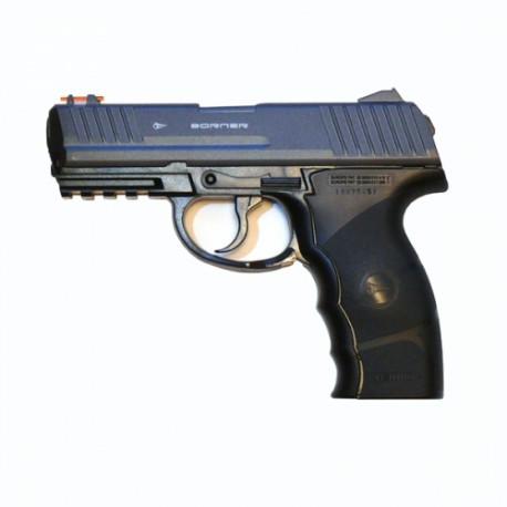Пневматический пистолет Borner W3000m (C-21) мет.