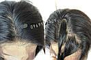 💎Женский длинный натуральный чёрный парик и с имтаций кожи 💎, фото 7