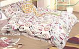 """Комплект постельного белья полуторный из бязи ТМ """"Ловец снов"""", Ах, Париж!, фото 3"""