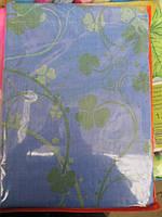 Постельное белье полуторное  светло голубое