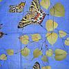 Постельное белье полуторное Инесс с бабочками