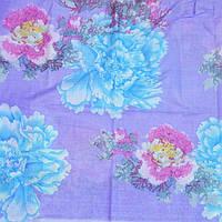 Постельное белье полуторное Инесс  разноцветные цветы