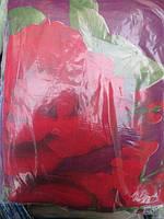 Постельное белье полуторное Инесс большие розы