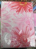 Постельное белье полуторное ткань поликоттон - цветы