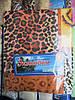 Полуторное постельное белье  леопард