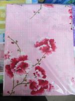 Полуторное постельное белье розовое