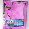Постельное белье полуторное розового цвета