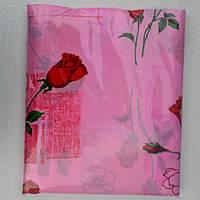 Полуторное постельное белье недорогое Инесс бутоны красных роз