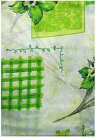 Постельное полуторное белье недорогое зеленые цветы