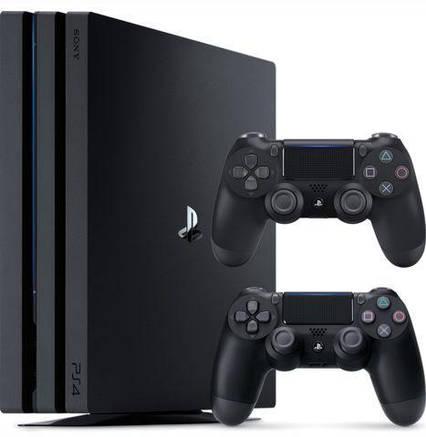 Sony Playstation 4 Pro 1TB + DualShock 4  продажа a18841c1e78f5