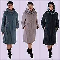 Плащ-пальто женское. Модель 190-А. Размеры 62-64