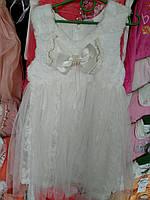 """Очень красивое летнее платье для девочки """" Бантик"""" от 3 до 7 лет"""