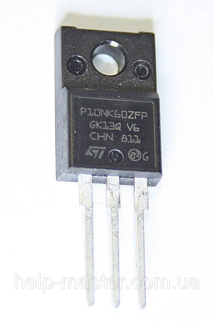 Транзистор STP10NK60ZFP (TO-220FP)