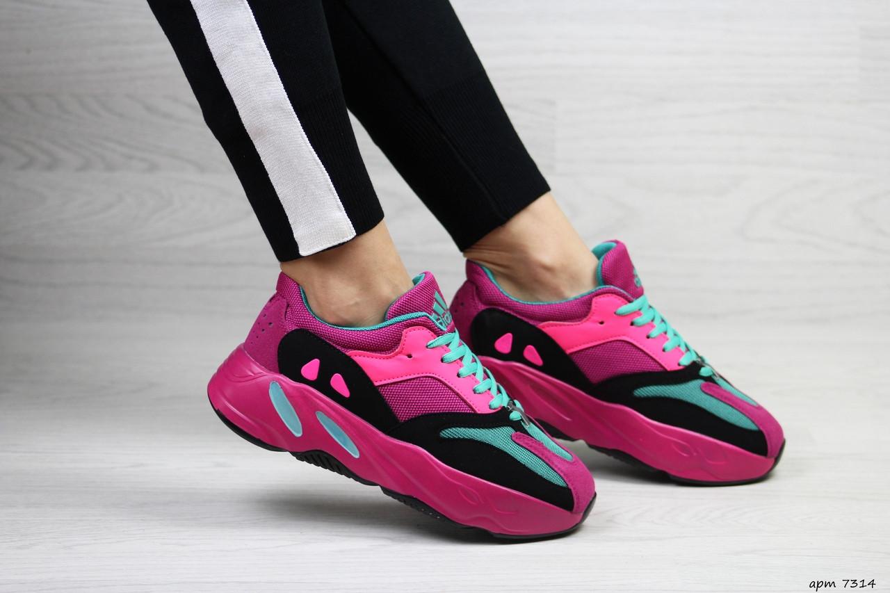 the best attitude 36f61 d8c4d Модные женские кроссовки Adidas x Yeezy Boost 700 Pink (реплика): продажа,  цена в Хмельницком. кроссовки, кеды повседневные от