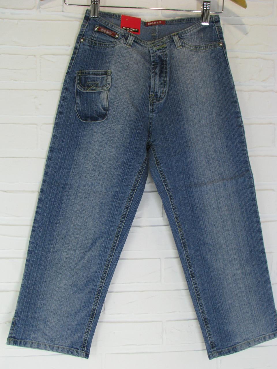Капри женские джинсовые 1815.22 синие 26, 28