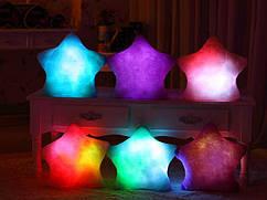 Светящаяся светодиодная подушка звездочка