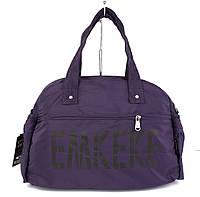 Сумка дорожная, спортивная, пляжная текстильная фиолетовая Emkeke 108, фото 1