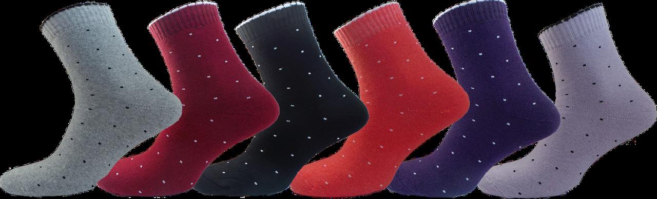"""Шкарпетки жіночі точка махра """"lomani"""""""