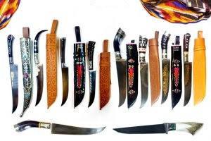 Ножи (пчаки) г. Чуст.