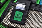 """Сумка органайзер для проводов USB кабелей """"Хаки темно-зеленый"""", фото 4"""