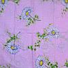 Постельное белье двуспальное на розовом белые ромашки