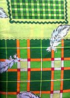 Постельное белье двуспальное зеленого цвета