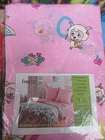Постельное белье двуспальное недорогое розового цвета