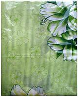 Постельное белье двуспальное салатового цвета