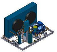 Холодильний агрегат на базі компресора Frascold A0.54y  2001 р.в. , що був в експлуатації.
