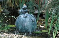 """Фигура для пруда  """"Король лягушек"""""""