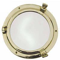 Зеркало Sea Club 550144 21х21 см. латунное