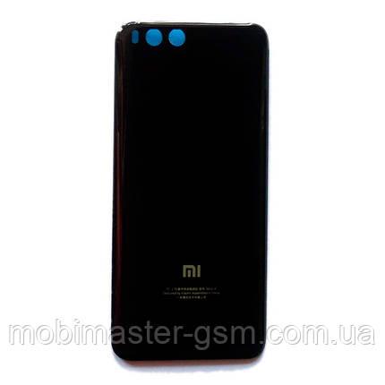 Задняя крышка Xiaomi Mi6 черная, фото 2