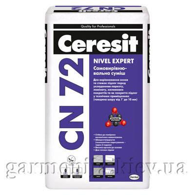 Смесь самовыравнивающаяся Ceresit CN 72, 25 кг, фото 2
