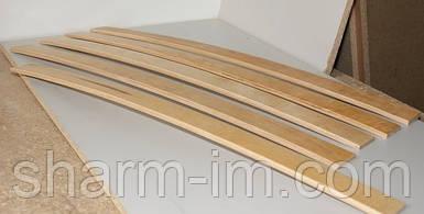 Буковые Кроватные Ламели 1000х53х8 мм с двумя креплениями