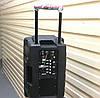 Колонка на акумуляторе с микрофоном UF-1018 /120W (USB/Bluetooth/FM), фото 2