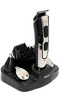 Аккумуляторная машинка для стрижки Gemei GM-592, фото 1