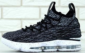 Баскетбольные кроссовки Nike Lebron 15 Ashes, Найк Леброн 15 серые