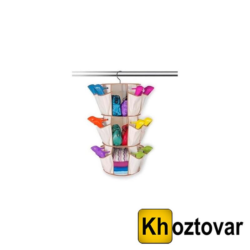Органайзер для  одежды и обуви Карусель(Smart carousel)