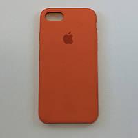 Силиконовый чехол для iPhone 8 Plus, цвет «сочный персик» - copy original