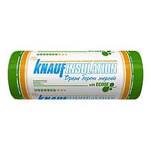 Утеплитель Knauf Insulation ТЕПЛОрулон 041 1200*7500*50мм (18,0 м2) минеральная вата (минвата)