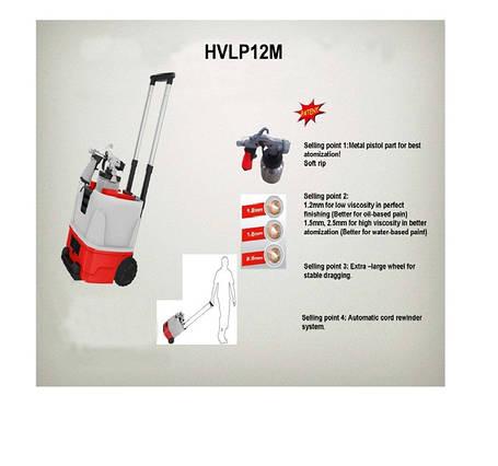 Агрегат окрасочный низкого давления АОНД HVLP12M, фото 2